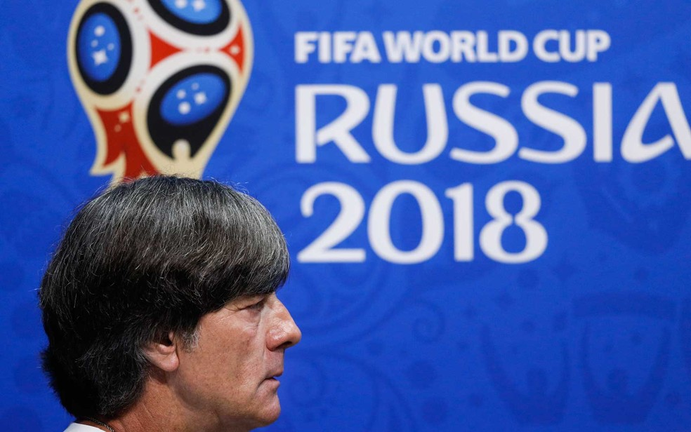 Jöachim Löw, técnico da Alemanha (Foto: Adrian Dennis / AFP Photo)