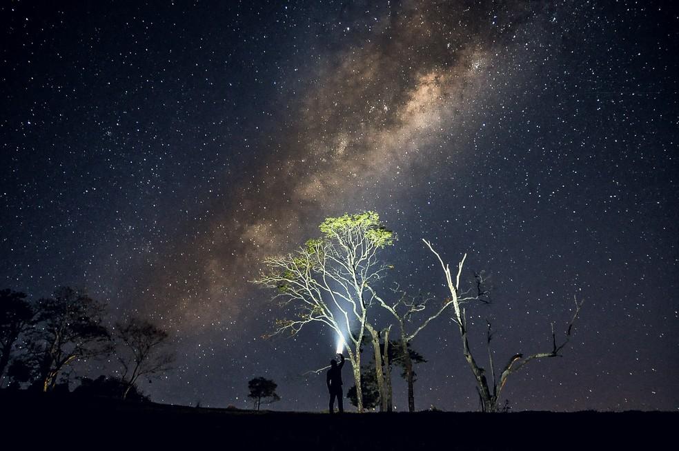 Vlamir costuma fotografar a natureza diariamente. (Foto: Vlamir Bastos/VC no TG)