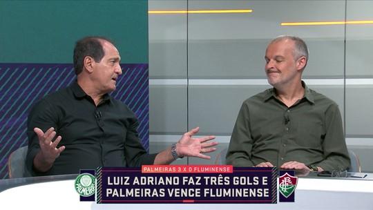 """""""Ganso tem que ter proteção e jogar livre"""", diz Muricy sobre esquema do Fluminense"""
