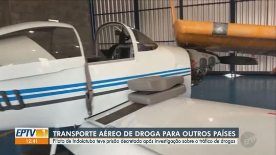 Piloto de Indaiatuba tem prisão decretada em operação da PF contra o tráfico internacional de drogas