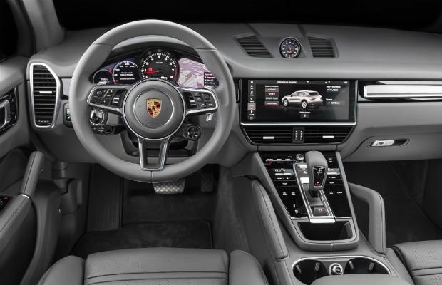 Interior do novo Porsche Cayenne  (Foto: Divulgação)