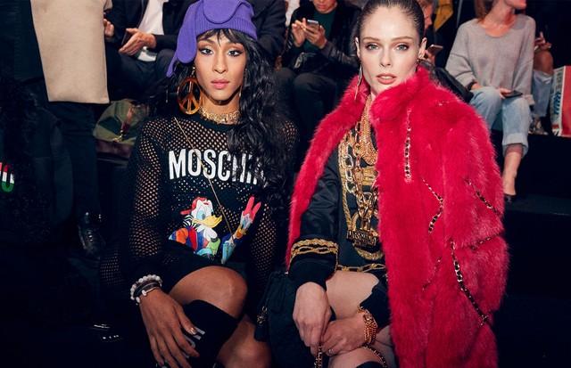 Mj Rodriguez e Coco Rocha (Foto: H&M)