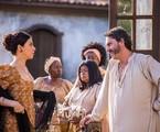 Fernanda Torres e Alexandre Nero em 'Filhos da Pátria' |  Paulo Belote/ TV Globo