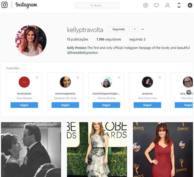 Kelly Preston (Foto: Reprodução/Instagram)