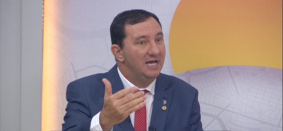 Deputado estadual Valdir Barranco (PT) — Foto: TV Centro América
