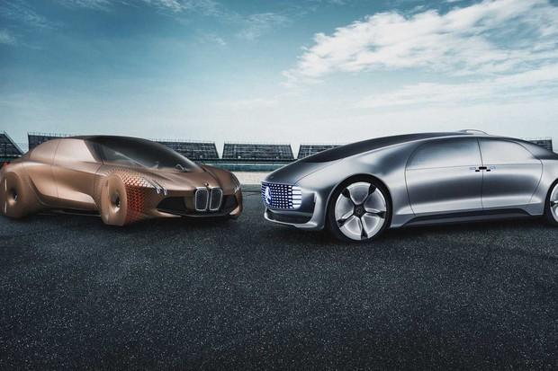 BMW e Daimler anunciam parceria para produzir carros autônomos  (Foto: Reprodução/Daimler)