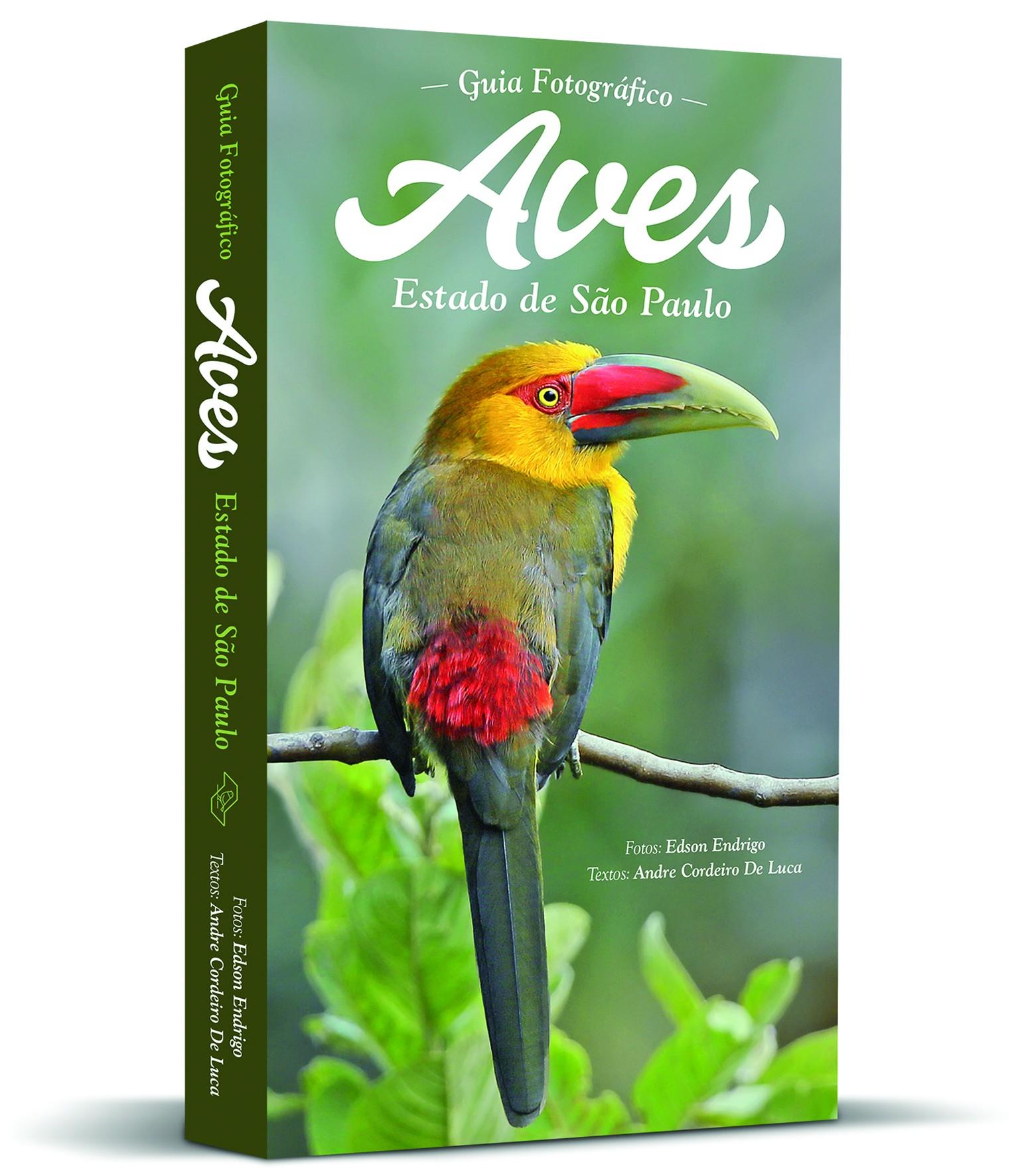 Fotógrafo e guia de observação lançam livro sobre aves do estado de São Paulo