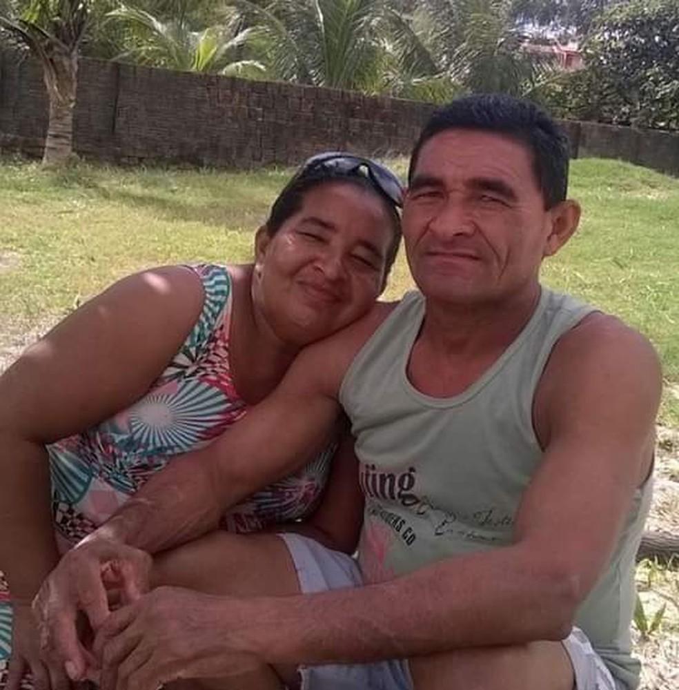 Casal morava em Canguaretama — Foto: Arquivo familiar/Cedida