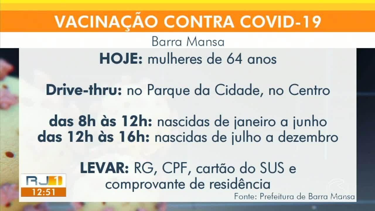 Cidades da região imunizam moradores nesta quinta-feira