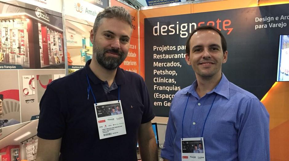 Pablo Sastres e Enrique Fernandes, fundadores da Designsete (Foto: Editora Globo)