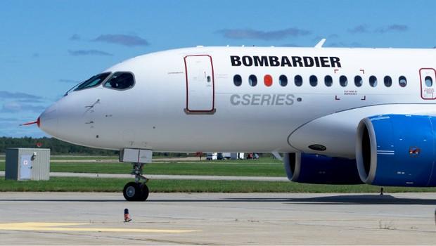 Avião da Bombardier (Foto: Divulgação /  Bombardier)