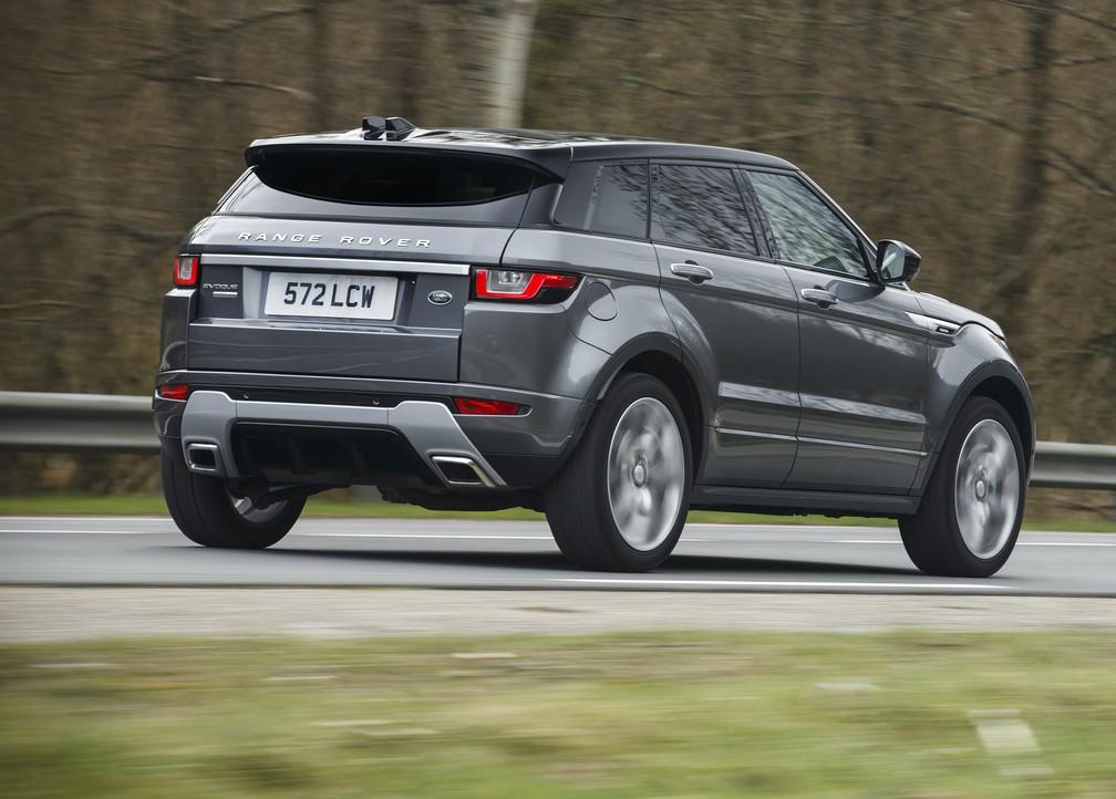 Range Rover Evoque 2017 — Foto: Divulgação