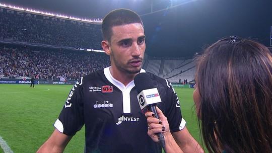 """Para Galhardo, Vasco teve chance de vencer o Corinthians: """"Depois do gol, massacramos"""""""