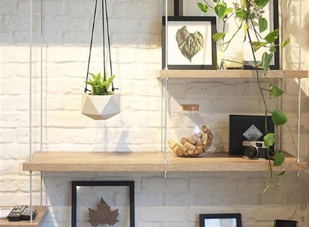 Como o próprio nome diz, o Jardim de Cimento, mistura plantas com acabamentos industriais (Foto: Instagram/ Reprodução)