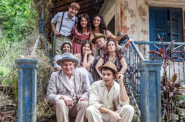 O elenco de 'Êta mundo bom!' (Foto: Artur Meninea/Gshow)