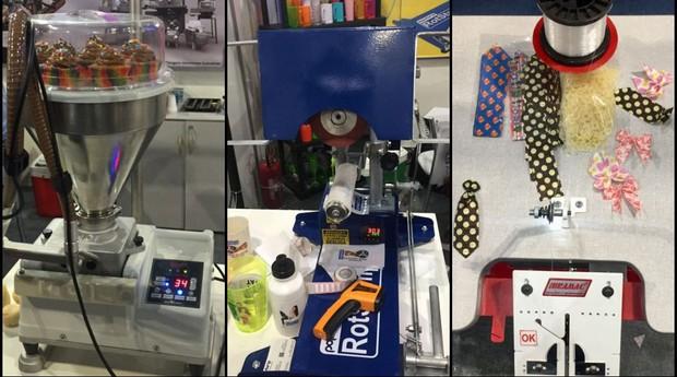 105c32da3 Máquinas: Feira do Empreendedor apresentou muitas opções (Foto: Mariane ...