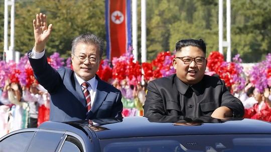 Foto: (Pyeongyang Press Corps/AFP Photo)