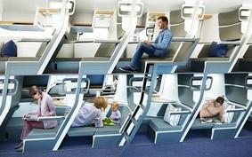 Cabine duplex e beliche: as curiosas ideias para as viagens de avião no futuro