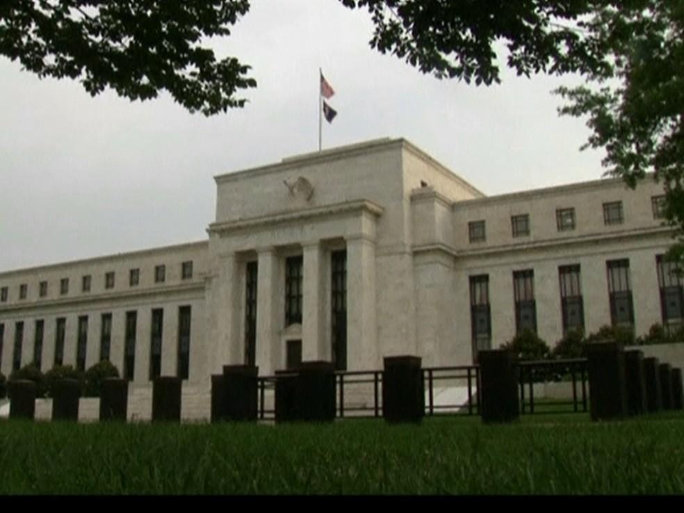 GNews - Banco Central dos Estados Unidos, FED — Foto: GloboNews