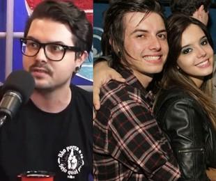 Pe Lanza atualmente e durante o namoro com Giovanna Lancellotti, em 2011   Reprodução e Marco Macedo/Divulgação