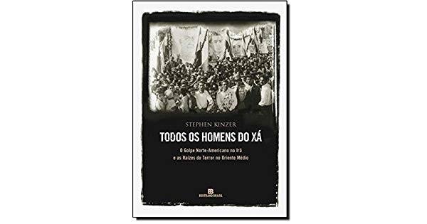 """Livro """"Todos os homens do xá"""" (Foto: Reprodução)"""