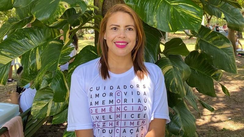 Cláudia Sousa e a importância da conscientização sobre o Alzheimer
