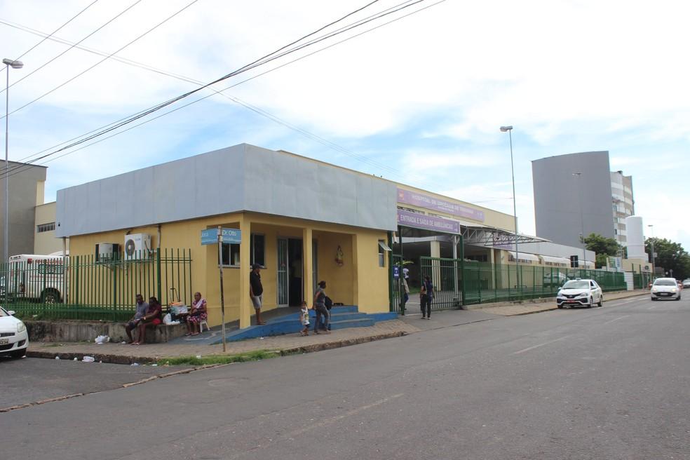 Hospital de Urgência de Teresina (HUT) — Foto: José Marcelo/ G1 PI