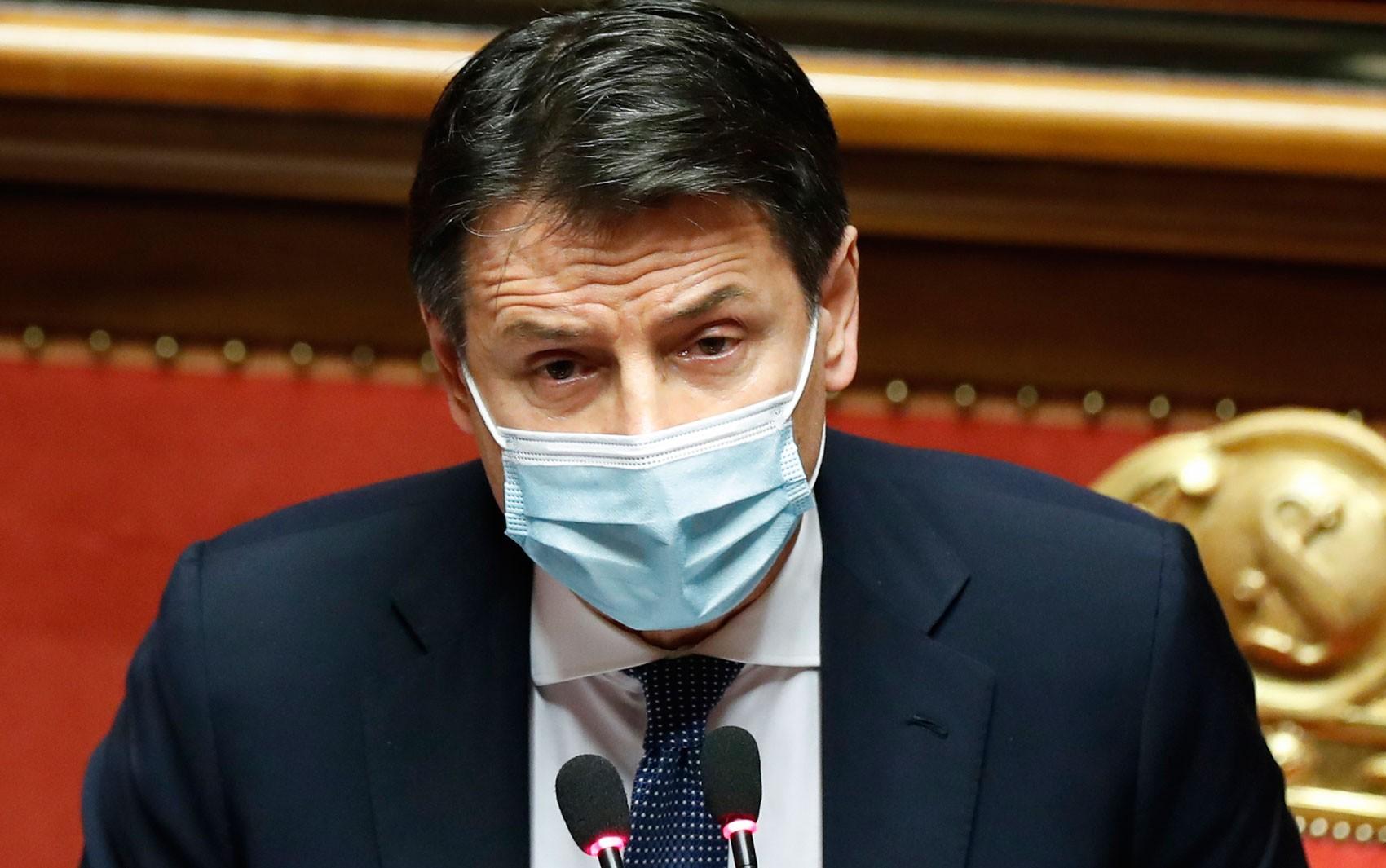 Primeiro-ministro italiano anuncia renúncia na terça-feira para buscar nova maioria