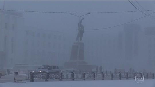 Capital russa teve apenas seis minutos de sol em dezembro