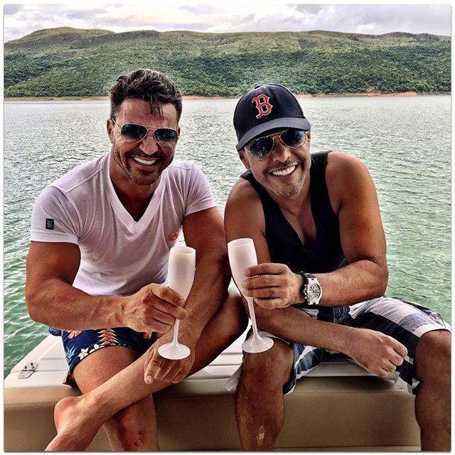 Eduardo Costa e Zezé di Camargo (Foto: Reprodução/Instagram)