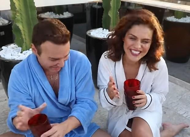 Matheus Mazzafera e Paloma Bernardi (Foto: Youtube)