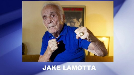 """Inspiração para De Niro em """"Touro Indomável"""", ex-boxeador Jake LaMotta morre aos 95 anos"""