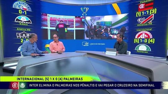 """Árbitro de Inter x Palmeiras relata em súmula ofensas de dirigentes colorados: """"Safado"""""""