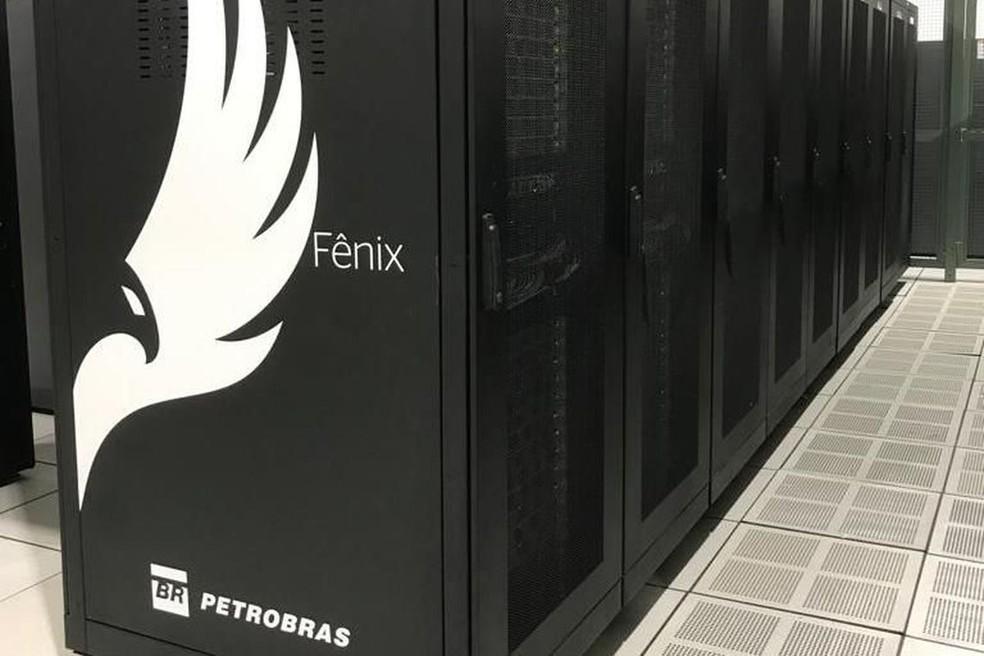 Supercomputador da Petrobras será usado em simulação geofísica — Foto: Divulgação/Petrobras
