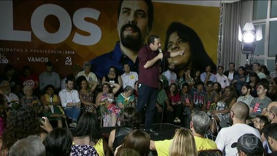 PSOL confirma Guilherme Boulos para disputa da Presidência