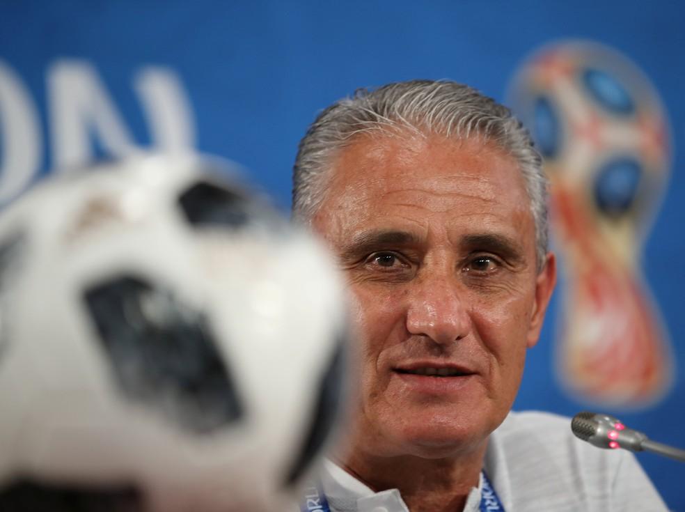 Tite diz que Fred não enfrenta a Suíça na estreia da Copa (Foto: REUTERS/Marko Djurica)