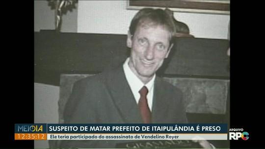 Foragido, assassino de prefeito de Itaipulândia é preso pela PM