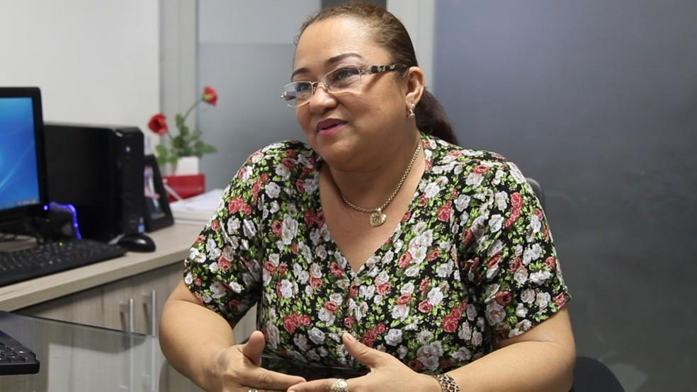 Malrinete Gralhada (PMDB) foi denunciada pelo Ministério Público por fraude em licitações em Bom Jardim (Foto: Michel Sousa G1/MA)