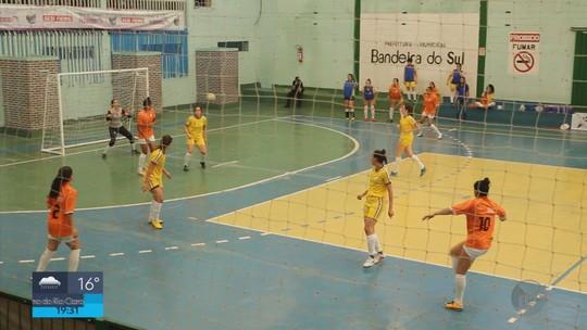 Bandeira do Sul vence a final da Taça de Futsal Feminino