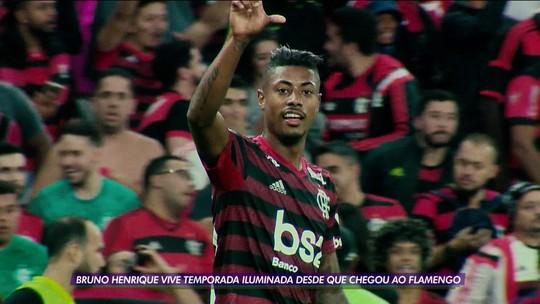 Veloz e furioso: mais rápido que Bale, Bruno Henrique vive melhor ano com só 8 meses de Flamengo