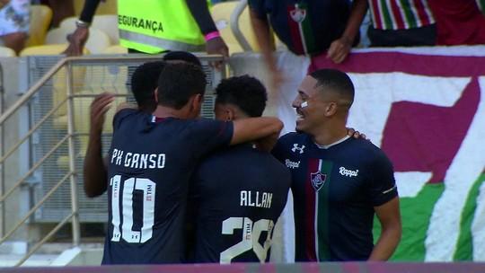 Fluminense x Cabofriense - Campeonato Carioca 2019 - globoesporte.com