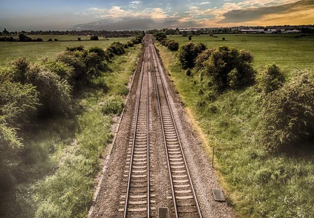 trem - trilho (Foto: Pexels)