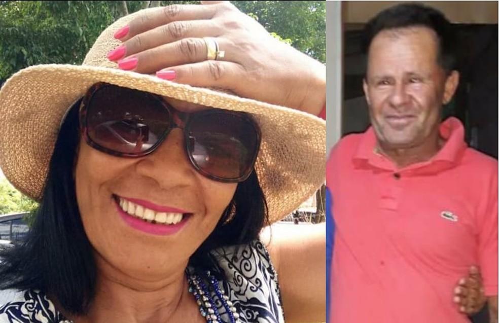 Ilda Barbosa Sousa e Anísio de Souza Lopes foram atropelados por motorista bêbado no DF — Foto: Arquivo pessoal