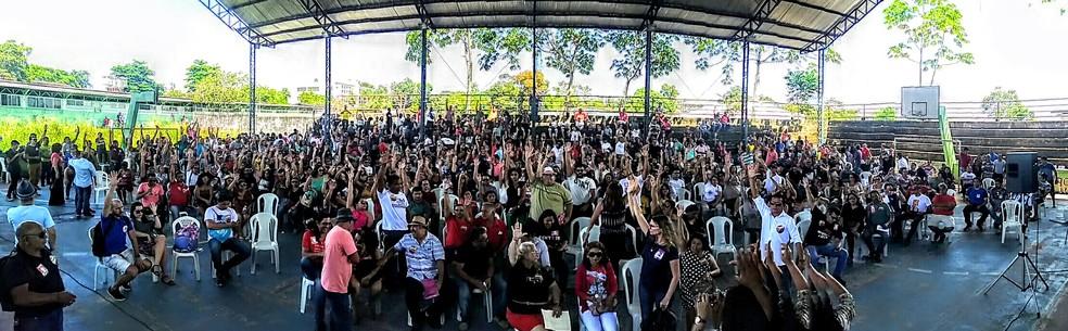 -  Professores do Pará decidem suspender greve iniciada há 43 dias.  Foto: Reprodução / Sintepp