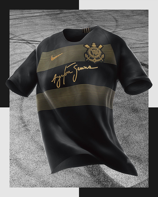 Camisa do Corinthians é eleita a 2ª mais bonita do mundo por site   Palmeiras está entre as mais feias  33ccce49d82c1