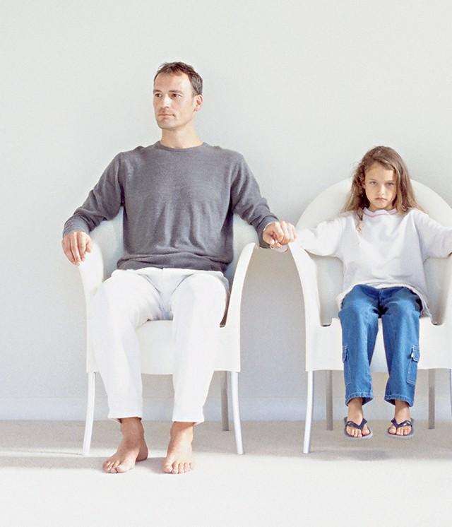 Pai e filha na separação (Foto: Imagem source/Getty Images)