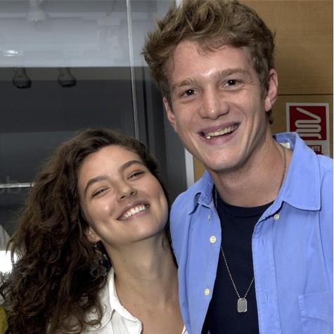 Alanis Guillen e Pedro Novaes (Foto: Cristina Granato)