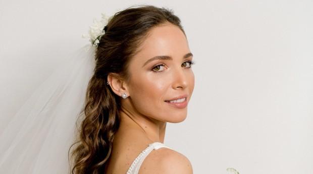 Uma das noivas maquiadas por Tatiane (Foto: Divulgação)