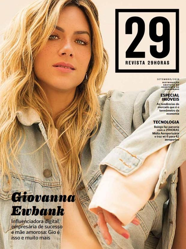 Capa da edição de setembro da Revista 29Horas (Foto: Eduardo Bravin)