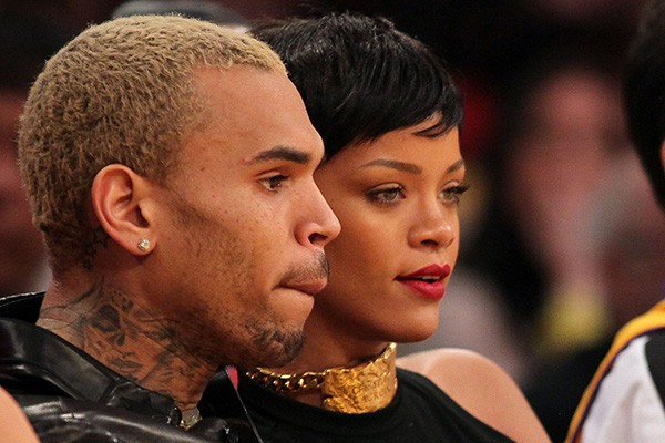 Chris Brown e Rihanna (Foto: Getty Images)